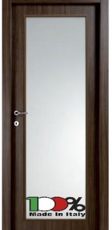 דלת למינטו (פורמייקה) גוון בתוספת זכוכית טיבולי