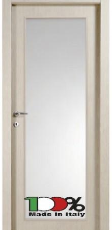 דלת למינטו (פורמייקה) בגוון קוציגיליה בתוספת זכוכית טיבולי