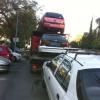 רכב ניגרר לפירוק בעפולה