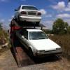 גרירת רכב לפירוק מחבל גזר לאזור המרכז